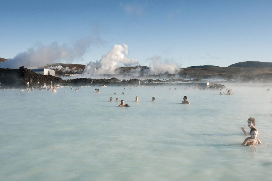 Photograph of the Blue Lagoon, Iceland, 2008